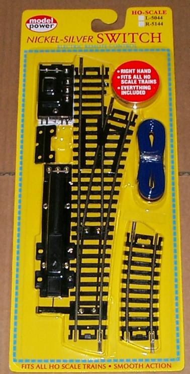 1-Weiche-15-Grad-rechts-Spur-H0-NEU-schwarz-switch